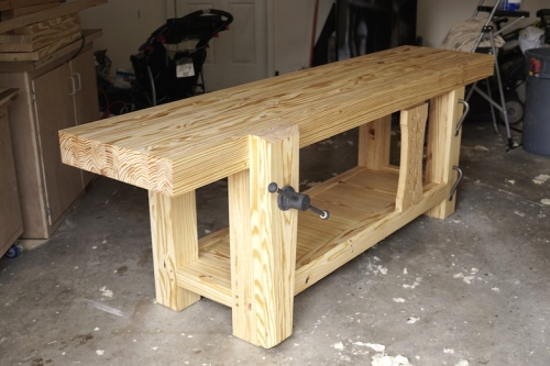 Completed Roubo Workbench