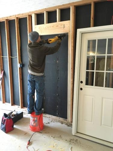 Cutting Door Opening