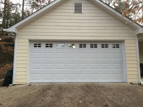 Garage Door Outside