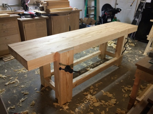 The Almost-Complete 2015 Roubo Workbench