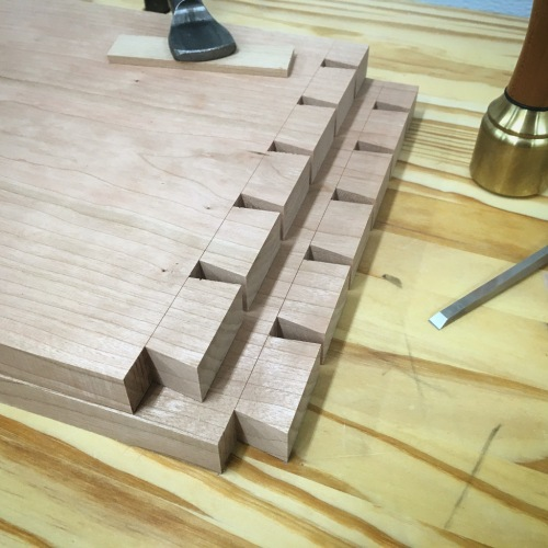 Dovetails on the Tablesaw