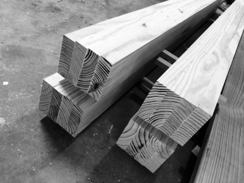 Beams for the Roubo Bench Top