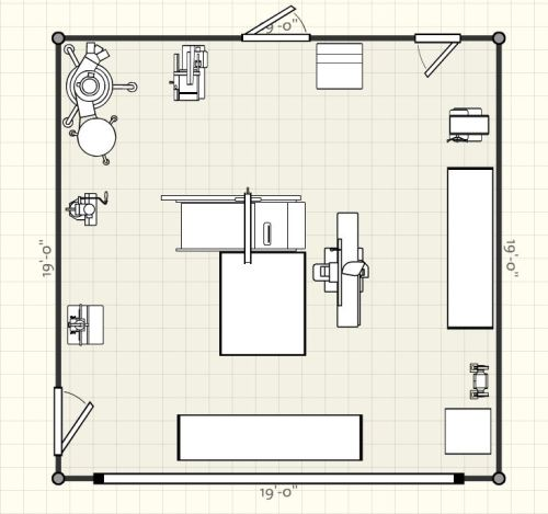 Planning a garage workshop