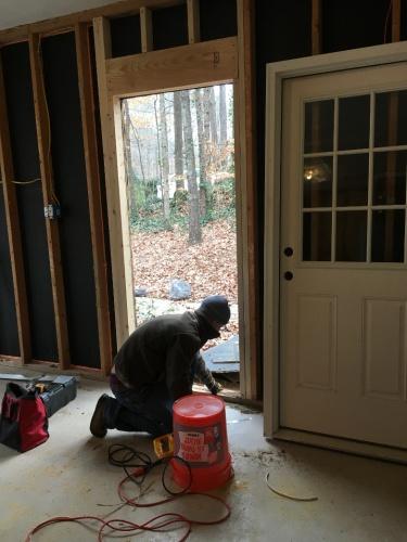 Completed Door Opening
