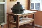 Cedar Big Green Egg Table