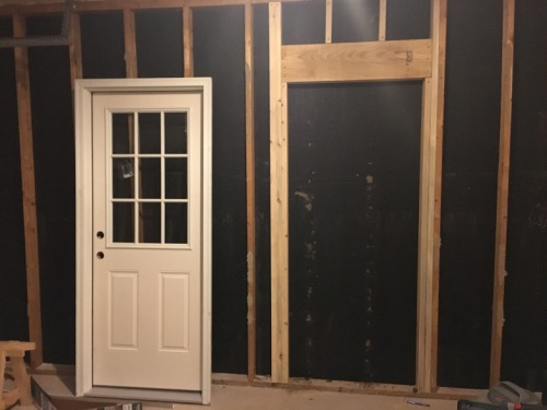Side Door Framing