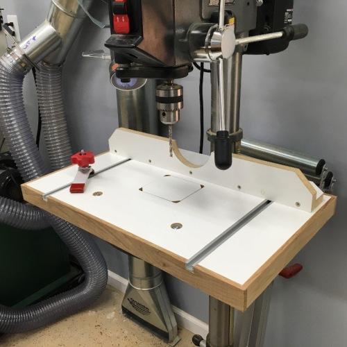 Porter Cable Drill Press Table